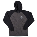 Answer 2018 Youth Victory Zipper Hoody - Charcoal Black