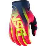 Answer - 2017 Alpha Air Gloves- Red/Acid