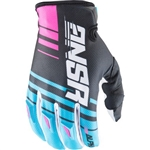 Answer - 2017 Alpha Gloves- Cyan/White/Black