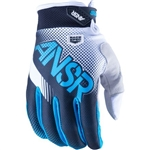 Answer - 2017 Syncron Air Gloves- Black/Cyan
