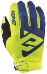 Answer 2018 AR-1 Gloves - Yellow/Blue