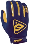 Answer 2018 AR-3 Gloves - Yellow/Blue