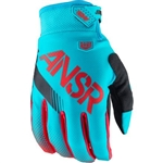 Answer - 2017 Syncron Gloves- Cyan/Red