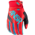 Answer - 2017 Syncron Gloves- Red/Teal