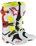 Alpinestars - Tech 10 Boots- White/Red/Yellow