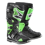 AXO - A2 Boot- Black/Flo Green