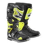 AXO - A2 Boot- Black/Flo Yellow