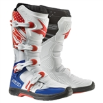 AXO 2017 MX Drone Boot- White/Red/Blue