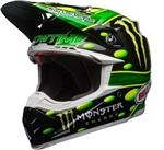 Bell 2018 Moto-9 Flex MC Monster Full Face Helmet - Green/Black