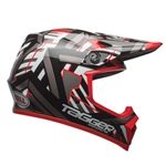 Bell 2017 MX-9 Tagger Double Trouble MIPS Full Face Helmet - Black/Red