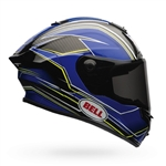 Bell 2017 Race Star Full Face Helmet - Triton Blue/Yellow