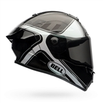 Bell 2017 Race Star Full Face Helmet - Tracer Gloss Black/White