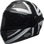 Bell 2018 Race Star Ace Cafe Blackjack Helmet - Matte Black/Gloss White