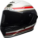 Bell 2018 Race Star RSD Formula Helmet - Gloss/Matte White/Red