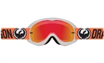 Dragon 2017 MDX Ionized Goggle - Flash Orange W/Red Ion Lens