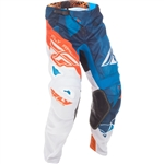 Fly Racing 2018 Kinetic Mesh Crux Pant - Blue/White/Orange