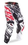 Fly Racing 2018 Kinetic Mesh Relapse Pant - Black/White/Red