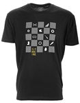 Fly Racing 2018 Checkers Tee - Black