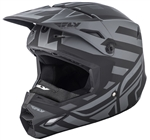 Fly Racing 2018 Elite Cold Weather Interlace Full Face Helmet - Matte Gray/Black