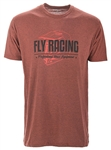 Fly Racing 2018 ERA Tee - Brick Black Heather
