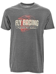 Fly Racing 2018 ERA Tee - Charcoal Heather