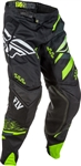 Fly Racing 2018 Evolution 2.0 Pant - Black/Hi-Vis/White
