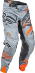 Fly Racing 2018 Evolution 2.0 Pant - Grey/Orange/Black
