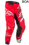 Fly Racing 2018 Evolution 2.0 Pant - Red/Grey/White