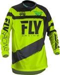 Fly Racing 2018 F - 16 Jersey - Black/Hi-Vis