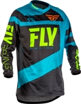Fly Racing 2018 F - 16 Jersey - Blue/Black