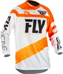 Fly Racing 2018 F - 16 Jersey - Orange/White