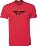 Fly Racing 2018 F-Wing Tee - Red