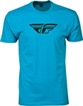 Fly Racing 2018 F-Wing Tee - Turquoise