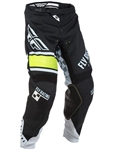 Fly Racing 2018 Kinetic Pant - Black/White