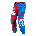 Fly Racing 2018 Kinetic Outlaw Pant - Red/Blue