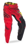 Fly Racing 2018 Kinetic Rockstar Pant - Red/Black