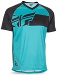 Fly Racing 2017 MTB Action Elite Jersey - Teal/Black