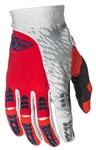 Fly Racing 2017 MTB Evolution 2.0 Gloves - Red/Grey/White