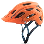 Fly Racing 2017 MTB Freestone Helmet - Matte Orange/Blue