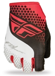 Fly Racing 2017 MTB Lite Fingerless Gloves - Red/White
