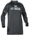 Fly Racing 2017 MTB Windproof Technical Jersey - Black