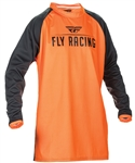 Fly Racing 2017 MTB Windproof Technical Jersey - Flo Orange