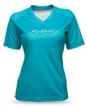 Fly Racing 2017 Womens MTB Action Jersey - Turquoise