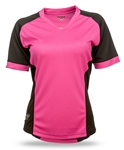 Fly Racing 2017 Womens MTB  Lilly Jersey - Black/Pink