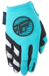 Fly Racing 2017 MTB Womens Kinetic Gloves - Blue/Teal