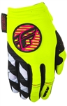 Fly Racing 2017 MTB Womens Kinetic Gloves - Neon Pink/Hi-Vis