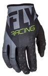 Fly Racing 2017 MTB Youth Kinetic Gloves - Black/Grey