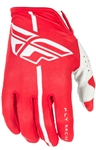 Fly Racing 2017 MTB Youth Lite Gloves - Red/Grey