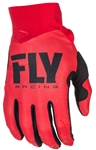 Fly Racing 2017 MTB Youth Pro Lite Gloves - Red