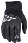 Fly Racing 2017 Youth F-16 Gloves - Black